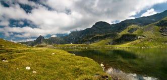 Lake Babreka, Peak Haramiata Royalty Free Stock Image
