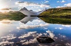 Lake Bachalpsee Royalty Free Stock Images