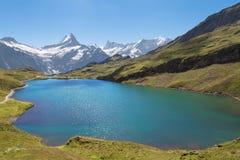 Lake Bachalpsee Arkivbilder