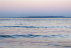 Lake background in pink and blue, hope or faith Stock Photos