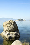 Lake Bafa Stones Royalty Free Stock Photo
