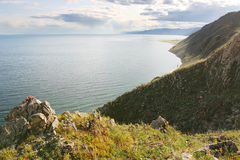 The lake Baikal Stock Photography