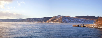 Lake is Baikal Royalty Free Stock Photos