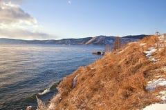 Lake is Baikal Stock Images