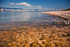 Lake Baikal Royaltyfri Foto