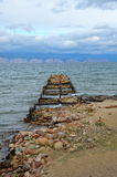 Lake Baikal in the autumn, Russia Royalty Free Stock Images