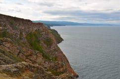 Lake Baikal in the autumn, Russia Stock Image