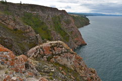 Lake Baikal in the autumn, Russia Royalty Free Stock Photography