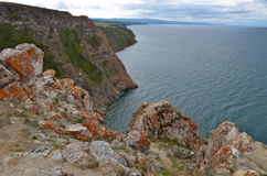 Lake Baikal in the autumn, Russia Stock Images