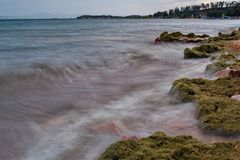 Lake Baikal coastline Royalty Free Stock Photography