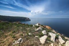 Lake Baikal i Sibirien Royaltyfria Bilder