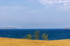 Lake Baikal i sommaren royaltyfria foton