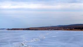 Lake Baikal Khuzhir timelapse stock video footage