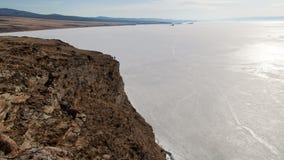 Lake Baikal nature landscape timelapse stock video footage
