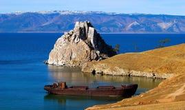 Lake Baikal. Olkhon island. Stock Photo