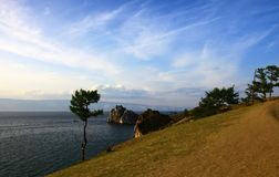 Lake Baikal. Olkhon island. Royalty Free Stock Photos