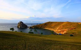 Lake Baikal. Olkhon island. Royalty Free Stock Image