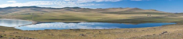 Lake Baikal panorama Royalty Free Stock Images