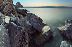 Lake Baikal, Shamanka Stock Photography