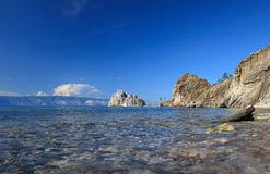 Lake Baikal. Summer Day Stock Image
