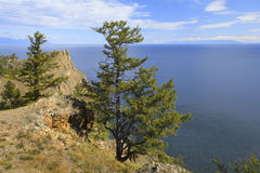 Lake Baikal. Summer Day Stock Photo