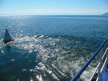 Lake Baikal vågor Royaltyfri Fotografi