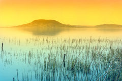 Lake Balaton royalty free stock photography