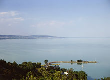 Lake Balaton Stock Image