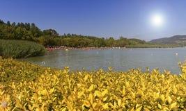 Lake Balaton, Ungern royaltyfria bilder