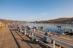 Lake Baldeney (Baldeneysee) Essen Stock Photos