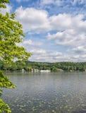 Lake Baldeneysee,Essen,Ruhrgebiet,Germany. At popular Lake Baldeneysee in Essen,Ruhrgebiet,North Rhine westphalia,Germany stock photography
