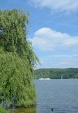 Lake Baldeneysee,Ruhrgebiet,Germany Royalty Free Stock Photography