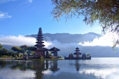 Lake at Bali Stock Photography