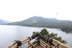 Lake in Bali royalty free stock photos