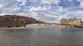 Lake band-e-amir in afghanistan. Afghanistan - lake band-e-amir Stock Photo