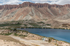Lake band-e-amir in afghanistan. Afghanistan - lake band-e-amir Royalty Free Stock Images