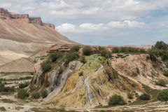 Lake band-e-amir in afghanistan Royalty Free Stock Image