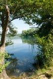 Lake Banolas Stock Photos