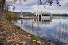 Lake Banyoles Royalty Free Stock Image