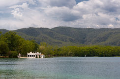 Lake Banyoles Stock Photos