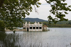 Lake Banyoles Stock Images
