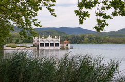Lake Banyoles Royalty Free Stock Photography