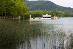 Lake Banyoles Stock Photo