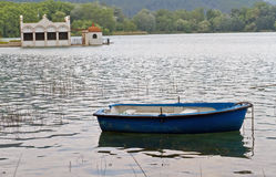 Lake Banyoles, Spain. Stock Photos