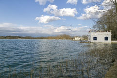 Lake Banyoles, Spain Girona Stock Photos