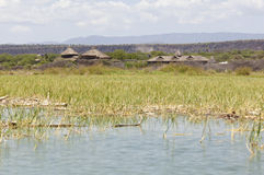 Lake Baringo, Kenya Stock Image