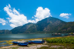 Lake Batur, Bali, Indonesia Stock Photos