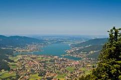 Lake in Bavaria, Germany Royalty Free Stock Photos