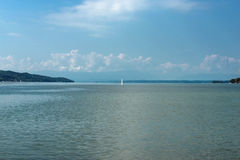 Lake in bavaria Royalty Free Stock Photography