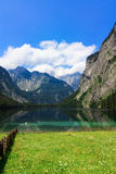 Lake in Bavarian Alps Stock Photography